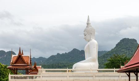 kanchanaburi: With Big Buddha in Kanchanaburi Thailand