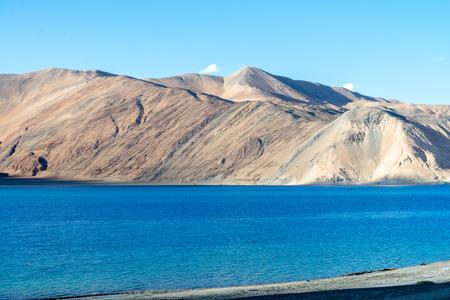 Mountain at Pangong lake, Leh Ladakh India Aug 2017