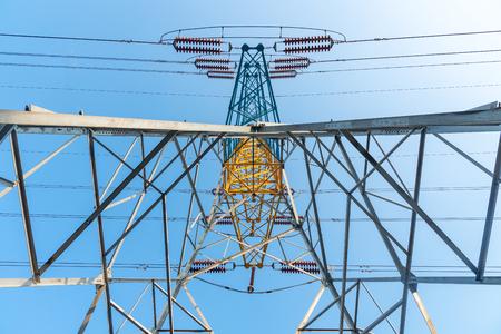 High voltage post Foto de archivo