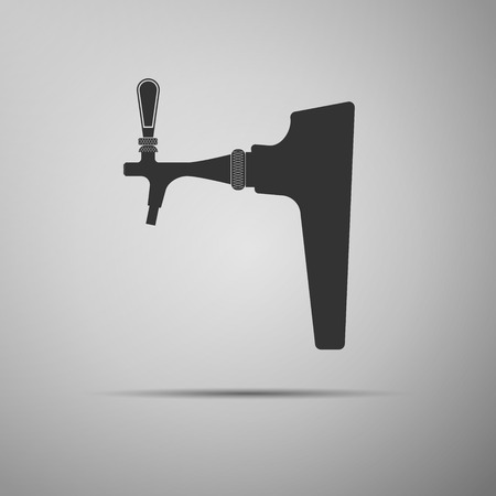 maturing: Beer tap icon. Vector Illustration