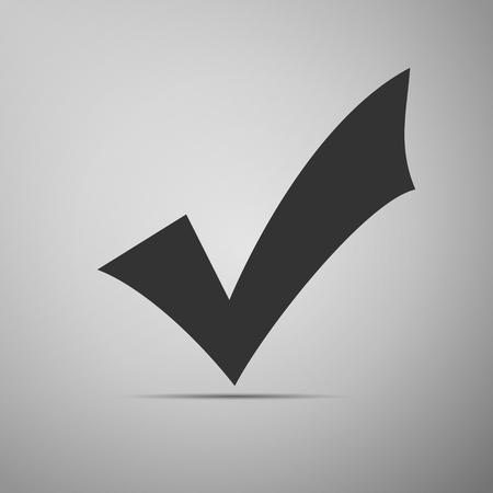 check mark icon: Check mark icon. Vector Illustration.