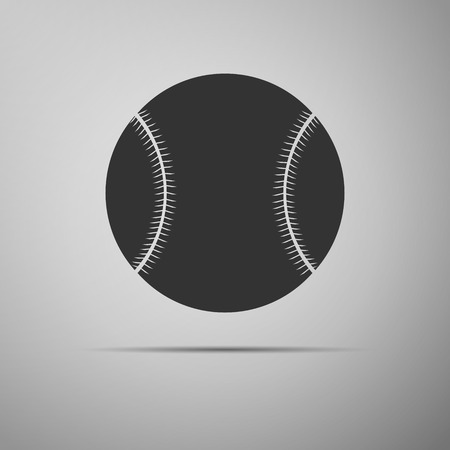 baseball cartoon: Baseball ball icon. Vector Illustration. Illustration