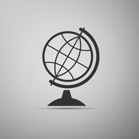 geography: Geography earth globe icon. Vector Illustration.