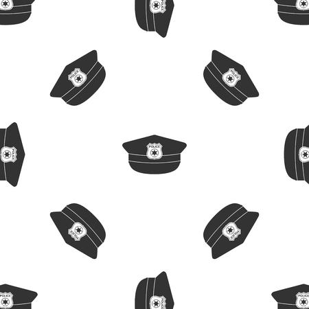 gorra polic�a: Polic�a patr�n casquillo Icono