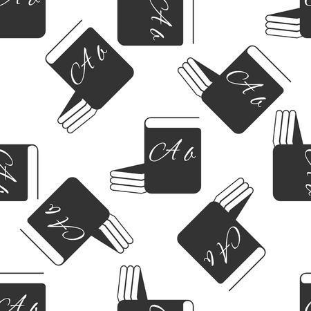 e book reader: Book icon pattern