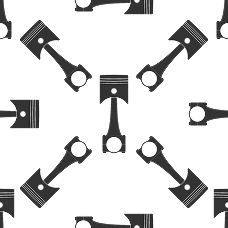engine: Car engine piston icon pattern Illustration