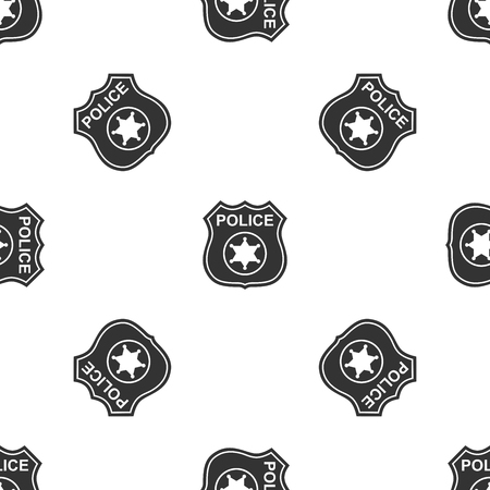 Police badges Icon pattern