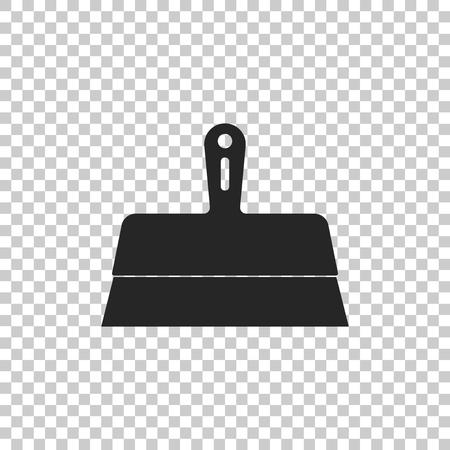 Putty knife icon isolated on transparent background. Spatula repair tool. Spackling or paint instruments. Flat design. Vector Illustration Vektoros illusztráció