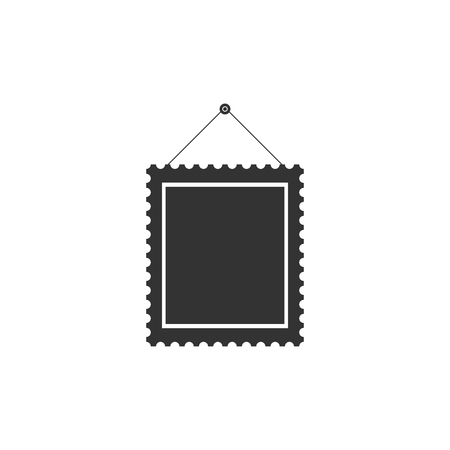 Holy bible book icon isolated. Flat design. Vector Illustration