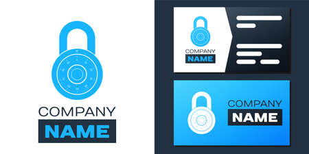 Safe combination lock wheel icon isolated on white background. Combination Padlock. Protection concept. Password sign.   design template element. Vector 矢量图像