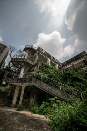 abandoned: Abandoned old mansion