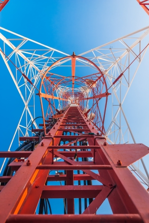 Mobile tower situated in the countryside, making communication much easier today. Stock Photo - 14321447