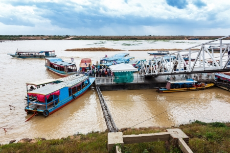 The Tonle Sap is the largest freshwater lake in South East Asia Stock Photo - 15005127