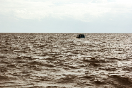 The Tonle Sap is the largest freshwater lake in South East Asia Stock Photo - 15015282