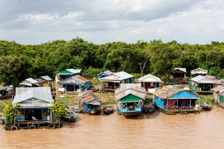 The Tonle Sap is the largest freshwater lake in South East Asia