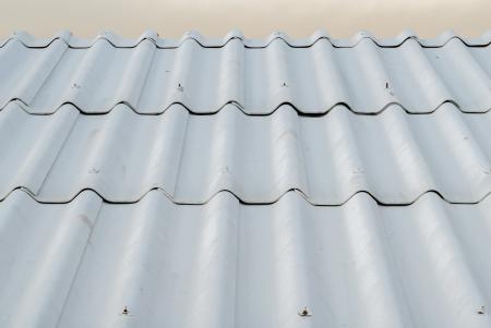 rooftile: La tegola assumere l'edificio Archivio Fotografico
