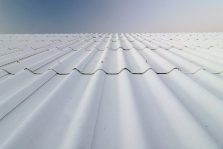 The roof-tile take on the building Stock Photo - 17306932