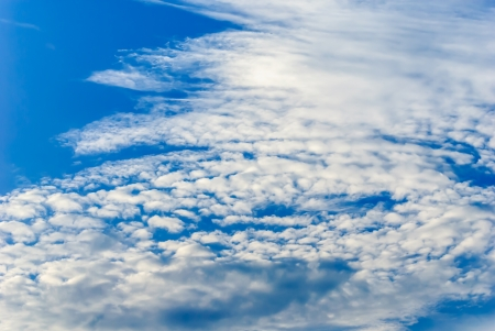 The color of sky and cloud Stock Photo - 17359759