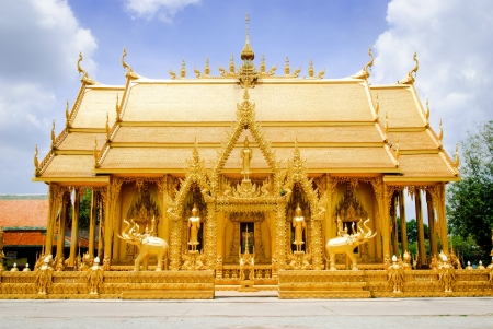 Watjolo,Temple in Thailand photo
