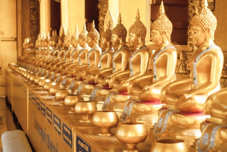 View of buddha statue in Thailand photo