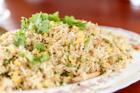 seafood fried rice  photo
