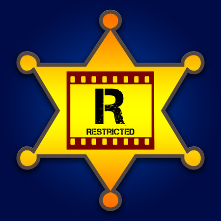 rated: movie rated and scoring film critics Stock Photo
