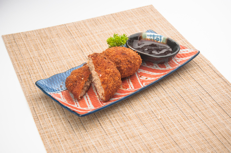 pork chop: Japanese style fried pork chop
