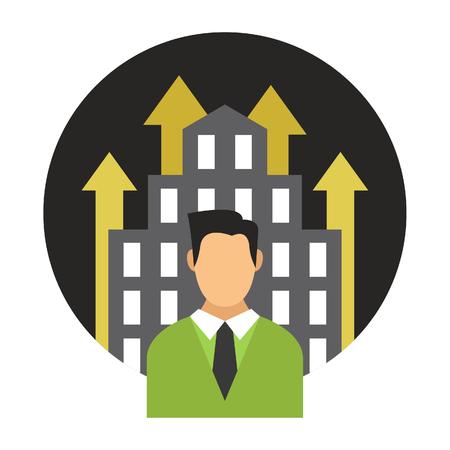 Business Development Icon Иллюстрация
