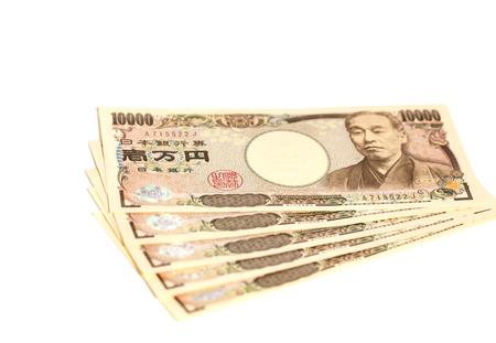 Note japonaise banque 10000 yens Banque d'images - 78248363