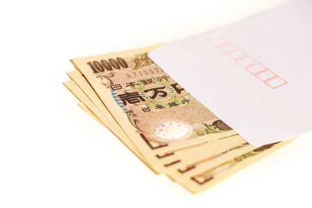 Japanese bank note 10000 yen