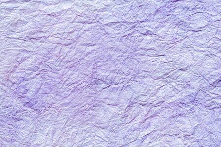 japanese abstract paper texture.light blue purple. close up.