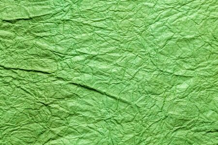 japanese abstract paper texture.green. close up.