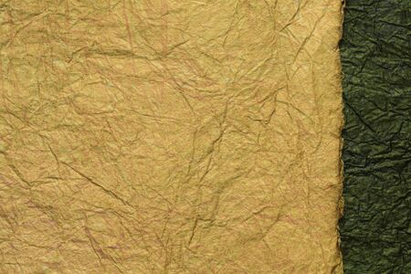 japanese abstract paper texture. 2 colors of brown with black. close up. 写真素材