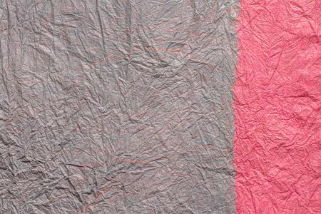 japanese abstract paper texture.2 colors of gray pink and pink. close up. 写真素材