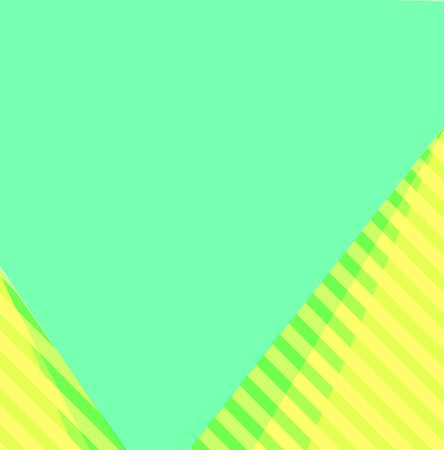yellowish green with yellow stripes and yellowish green plain background and copy space. Standard-Bild - 150280307