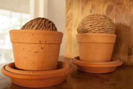 clay pot: clay pot Stock Photo
