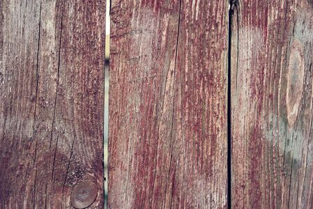 Background wooden texture. Hard old painted wall in grunge style. Surface for design and text. Close up view.