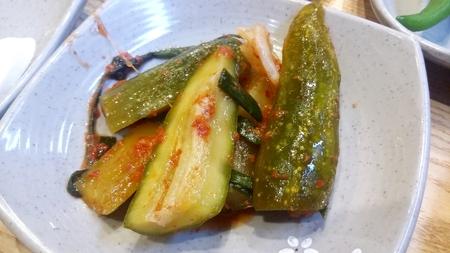 Stuffed cucumber pickles, Cucumber Kimchi, Oi-so-bagi