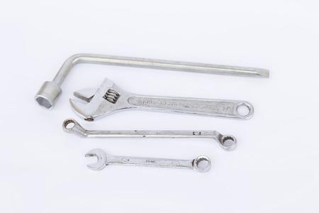 screw jack: wrench set