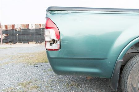 triplex: rear-light car broken