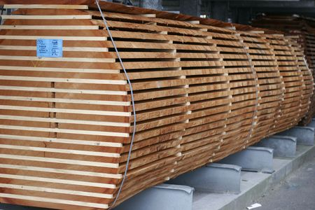 it is a stock of wood Stock Photo - 2863084