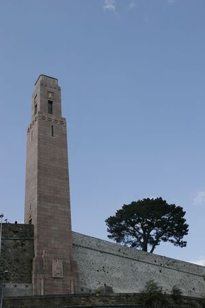 brest: it is a memorial monument at brest in brittany