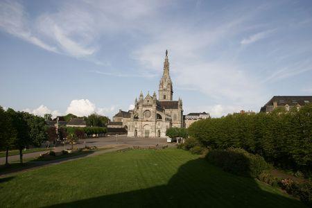 anne: basilica of st anne dauray Stock Photo