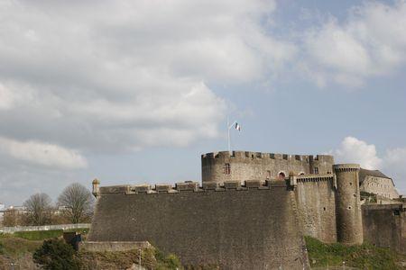 brest: a view of Brest castle Stock Photo