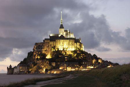 a view of the mont saint michel photo
