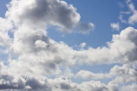 wheather: a blue sky for background