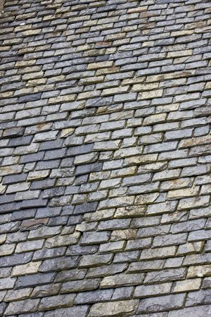 a roof in construction with slates Stock Photo - 5917627