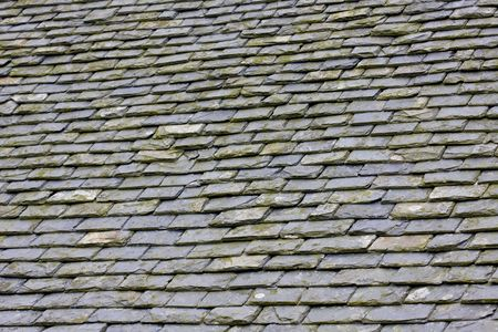 a roof in construction with slates Stock Photo - 5987984