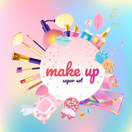 Makeup cosmetic super set
