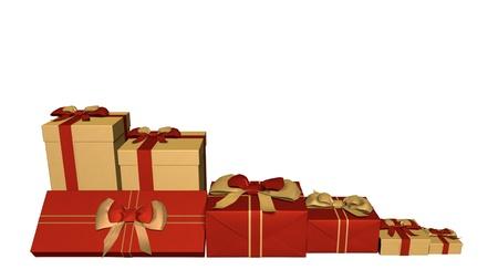 holiday gift box Stok Fotoğraf